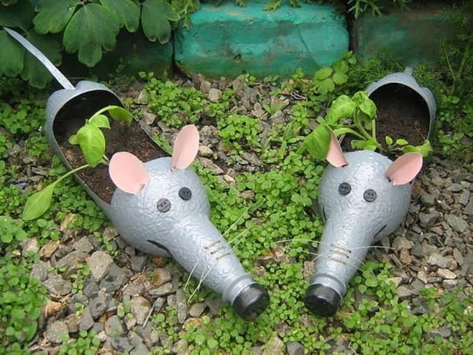 Мышки из бутылок