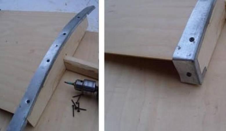 Укрепление лопаты