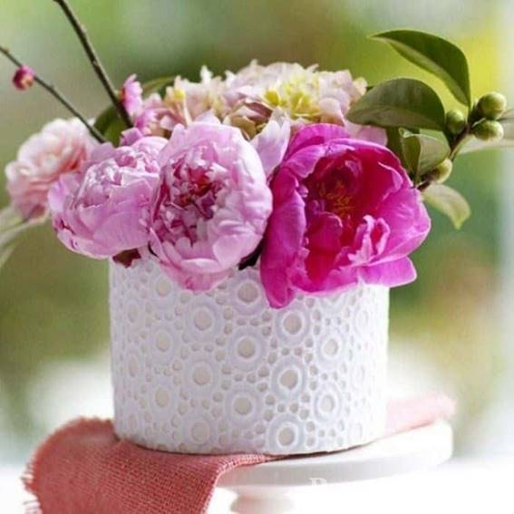 Оригинальные кашпо для цветов своими руками