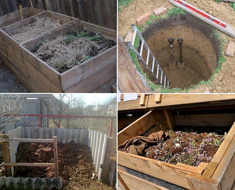 Хранение компоста
