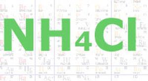 Химическая формула нашатыря