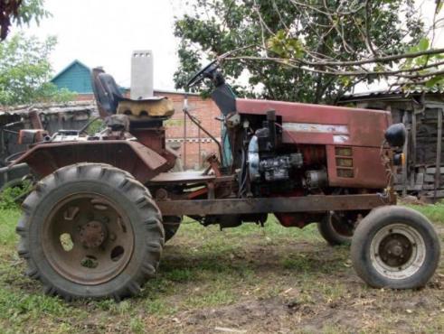 Трактор из Жигулей