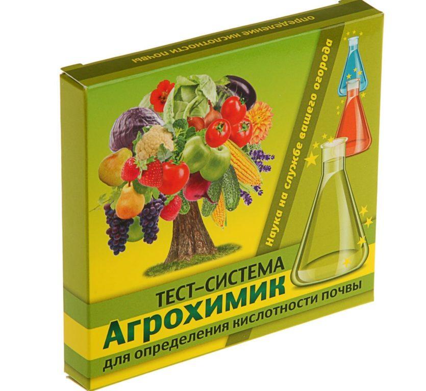 Тест для определения кислотности почвы АГРОХИМИК