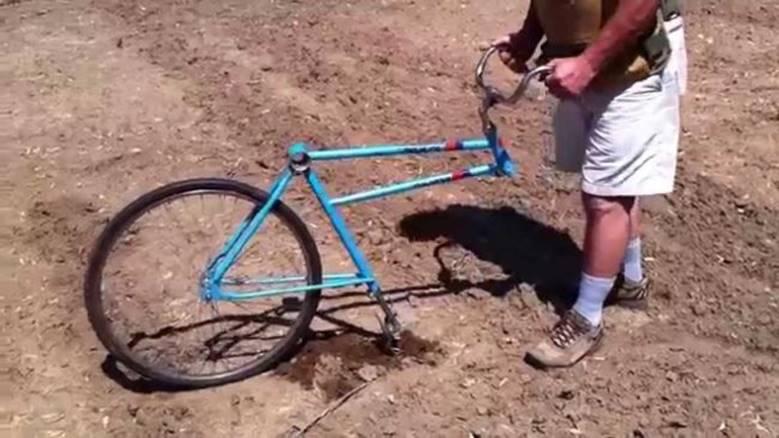 Культиватор из велосипеда