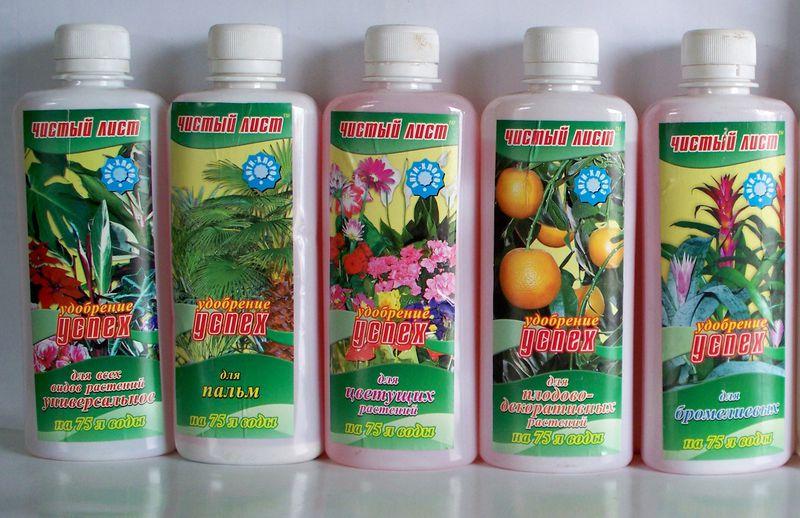 Для цветущих растений удобрение
