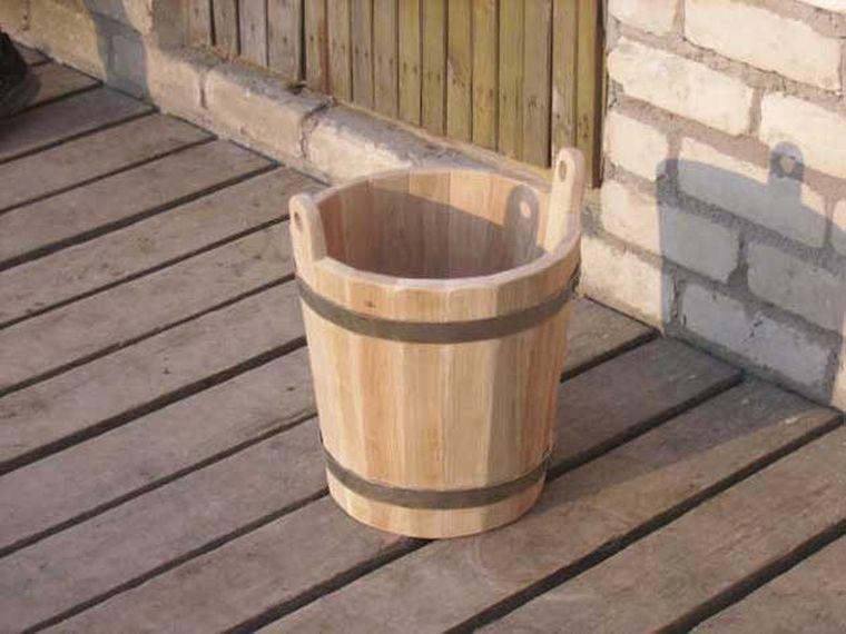 ведро для бани