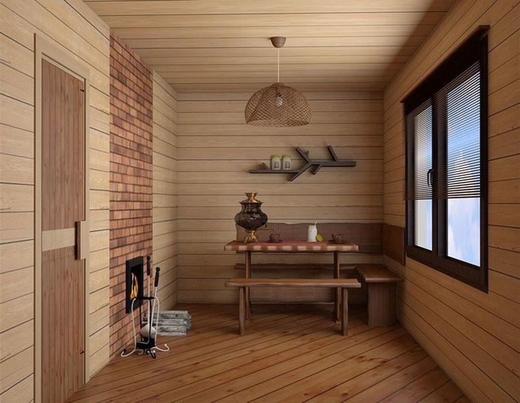 отделка комнаты отдыха
