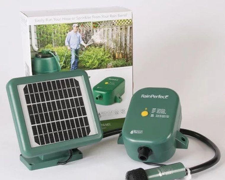 насос на солнечных батареях