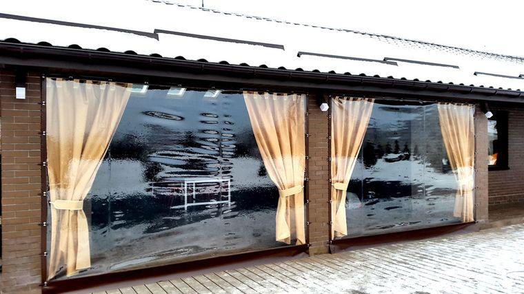 уличные ПВХ шторы