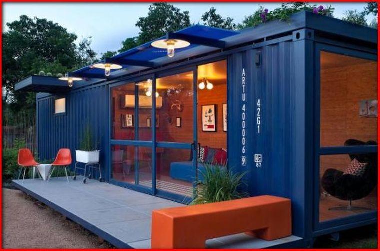Дом из контейнера: строить мало, обустраивать много