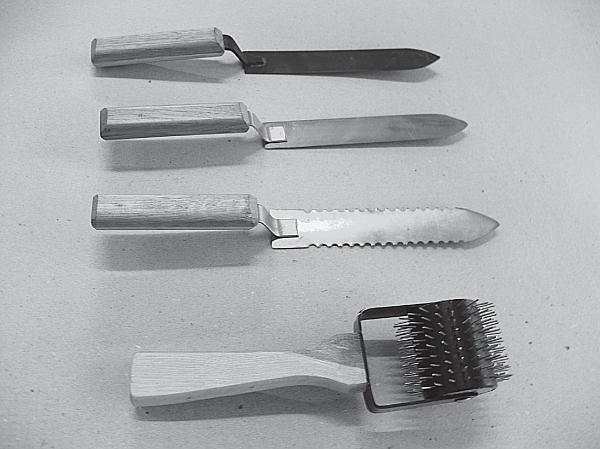 нож пчеловодный